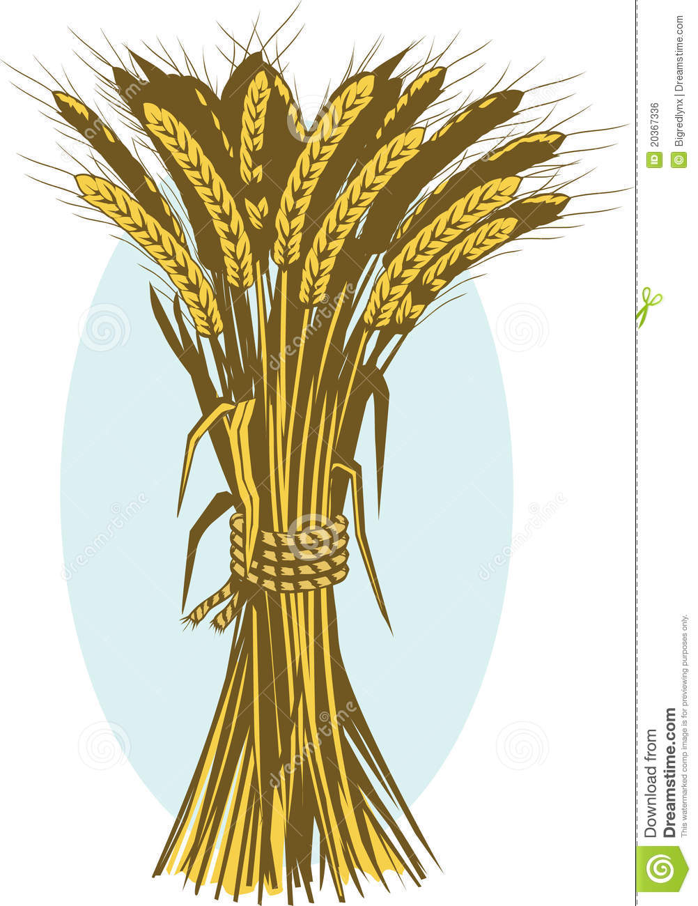 Grain clipart wheat bundle Clip Bundle  Clipart Art