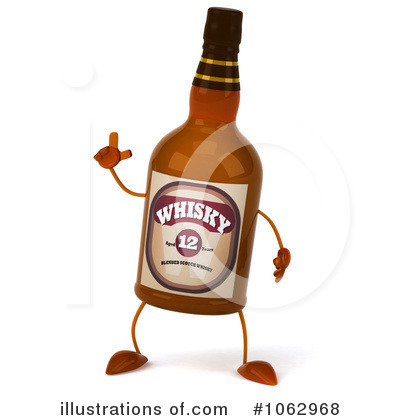 Bottle clipart whisky Clipart Free Bottle by by