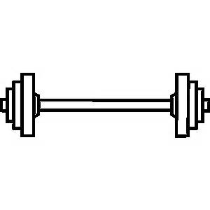 White clipart barbell Clip Clipart  Art Of