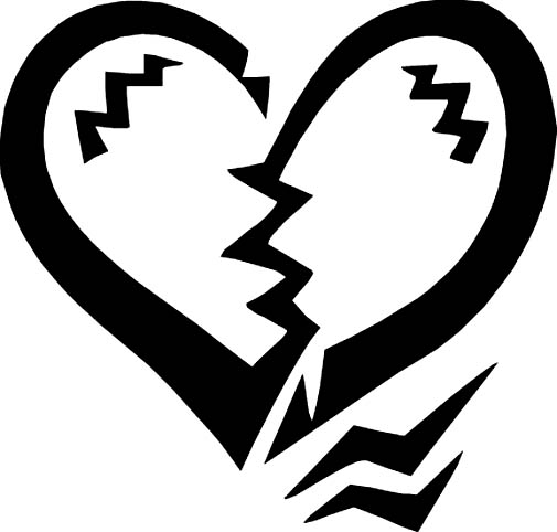 White clipart broken heart Broken collection clipart heart broken