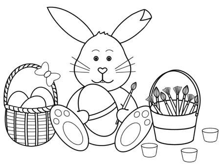 White clipart easter bunny Easter images Easter black Black