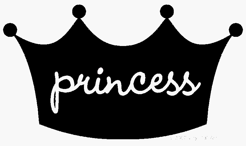 White clipart princess crown Princess and white 3 Crown