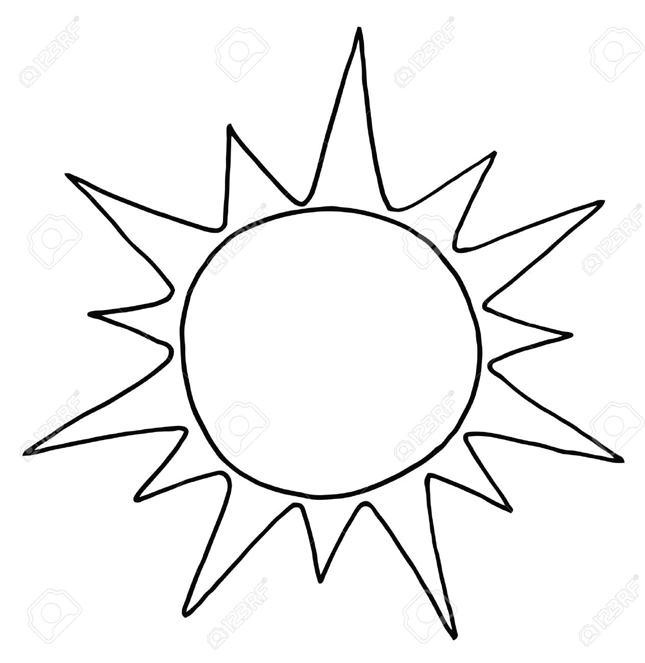 White clipart sunblack And Sun Sun And And
