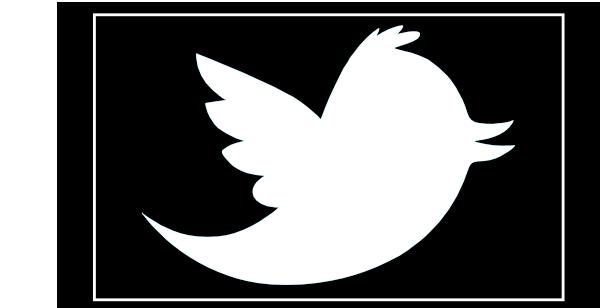 White clipart twitter On Art Clip Clipart Art