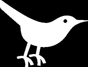 White clipart twitter Clip Art Art Bird