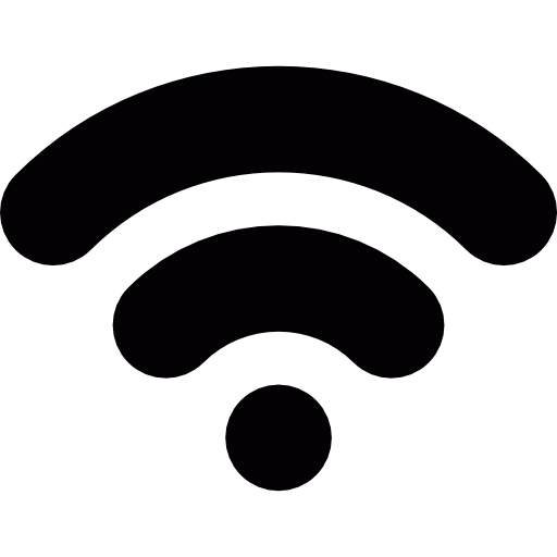 White clipart wifi Level icons level technology Free