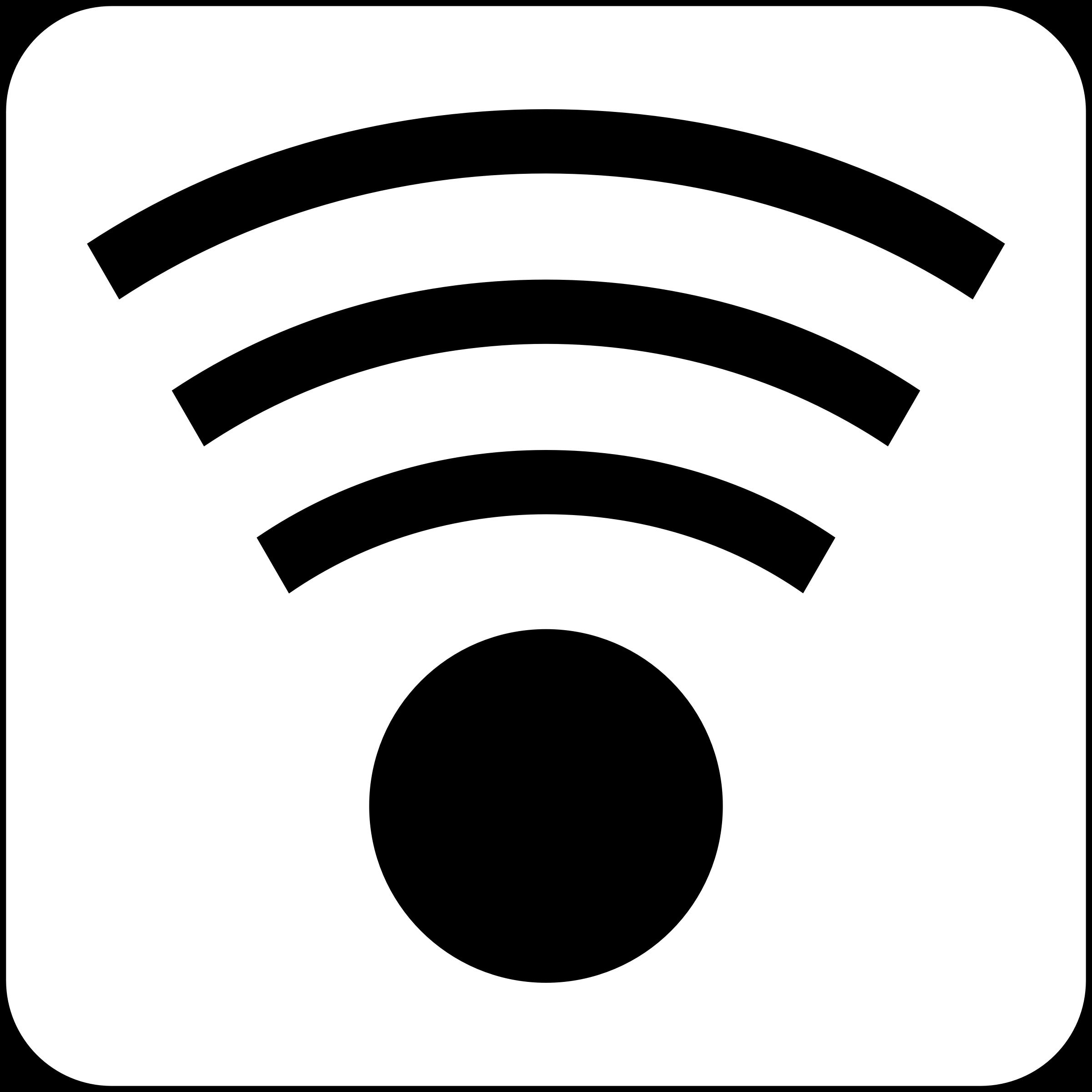 White clipart wifi Clipart Wifi Icon Wifi Icon