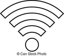 White clipart wifi Wifi 245 and Fi Art