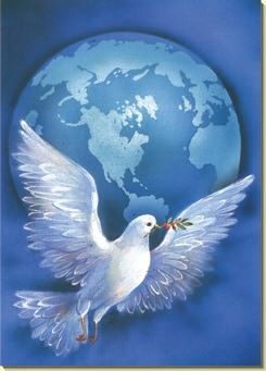Peace Dove clipart merry christmas #10