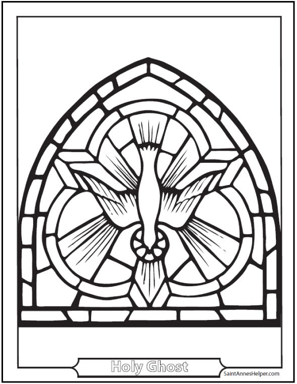 Mourning Dove clipart confirmation Picture Pinterest Catholic Ghost Glass