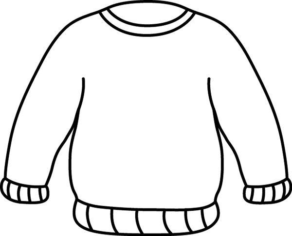 Shirt clipart black sweatshirt #1