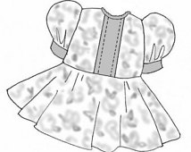 White Dress clipart baby Morrisseydolls pattern Clipart for dress