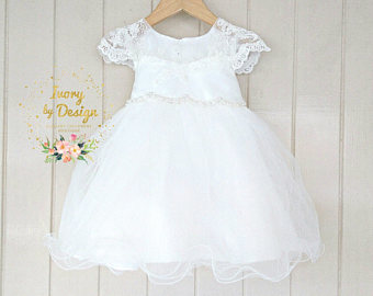 White Dress clipart baby White Vintage collection Clipart Ivory