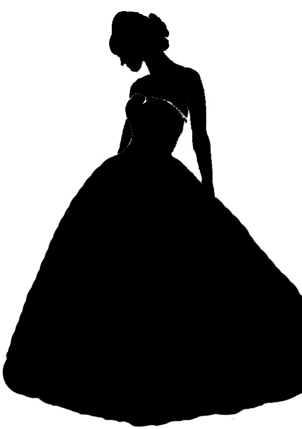 Bride clipart ball gown #3