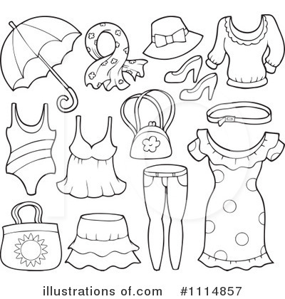 White Dress clipart black Clipart 400x420 54KB And Clothes