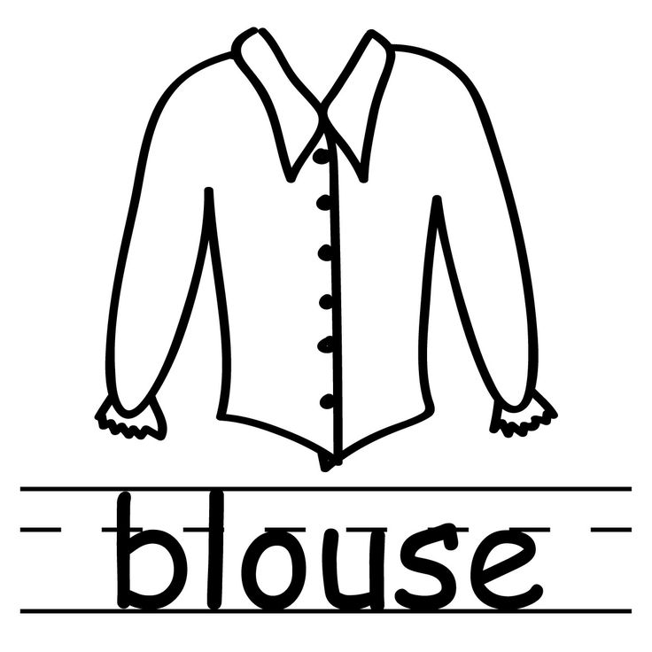 White Dress clipart blouse Clipart clothing images for free
