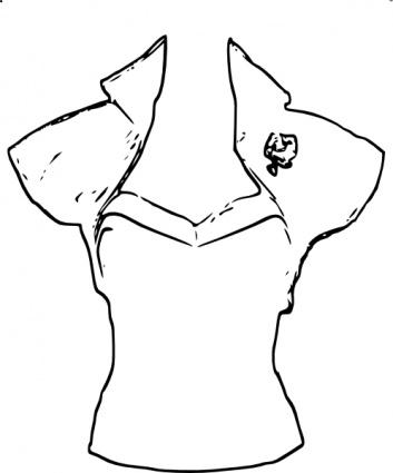 White Dress clipart blouse Clipart blouse Download Clipart blouse