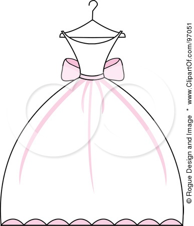 White Dress clipart cartoon Pinterest Credit on images Image