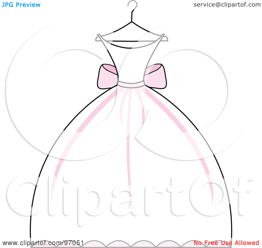 White Dress clipart cartoon Diagram  More Best Dress