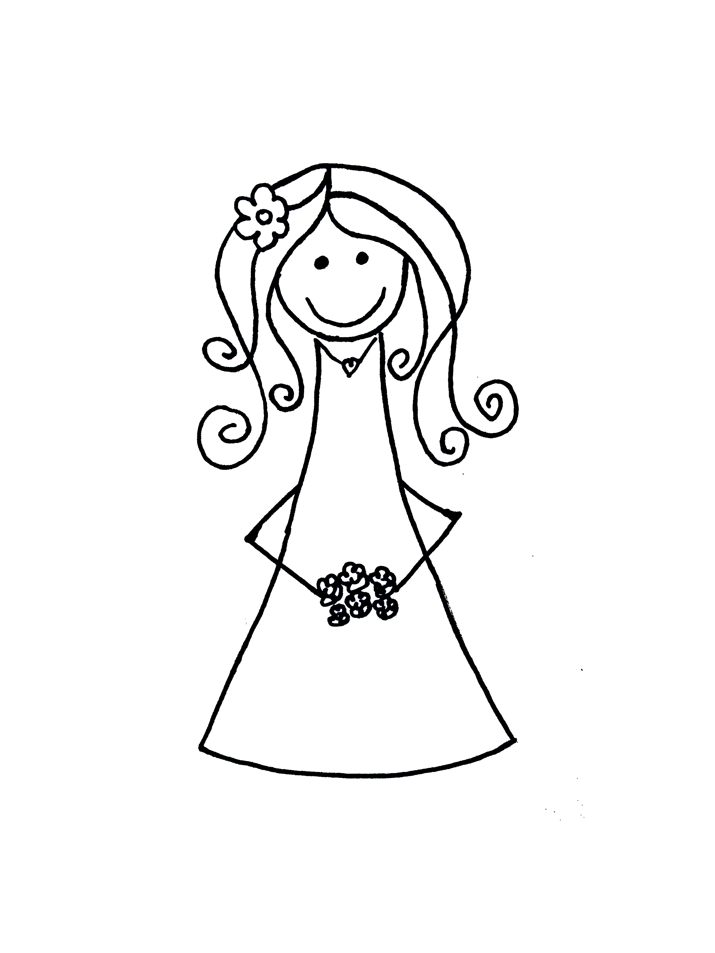 White Dress clipart cartoon On png  Art Art