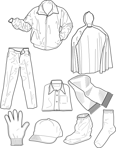 White Dress clipart kid As: Clothing Jackets Clip Clker