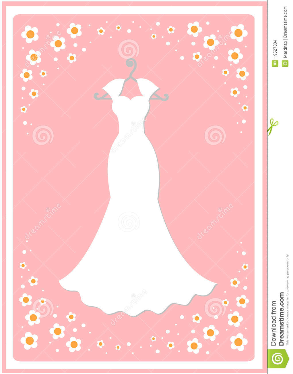 White Dress clipart kid Hanger Clipart wedding dress collections