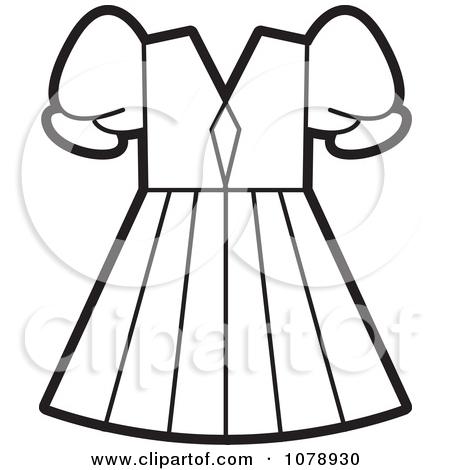 White Dress clipart long dress Dress Panda collection Clipart 20clipart