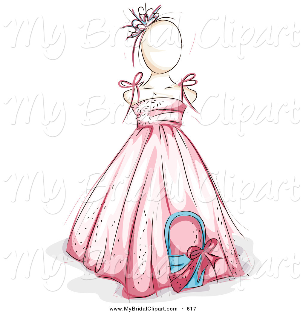 Wedding Dress clipart sketched Royalty Bridal in a Designs