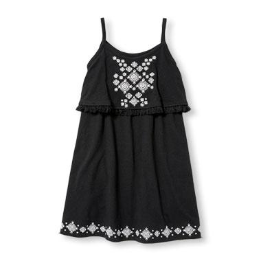 White Dress clipart sleeveless #5