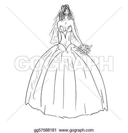 White Dress clipart vector Dress with Vector  white