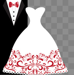 White Dress clipart wedding suit Suits psd free images and