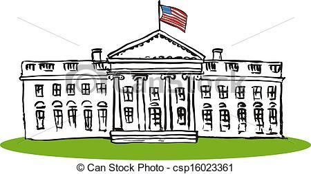 White House clipart capital House House  450 Easy