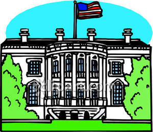White House clipart Clipart In Dc In White