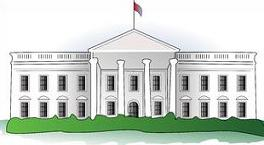 White House clipart government power White The House White Clipart