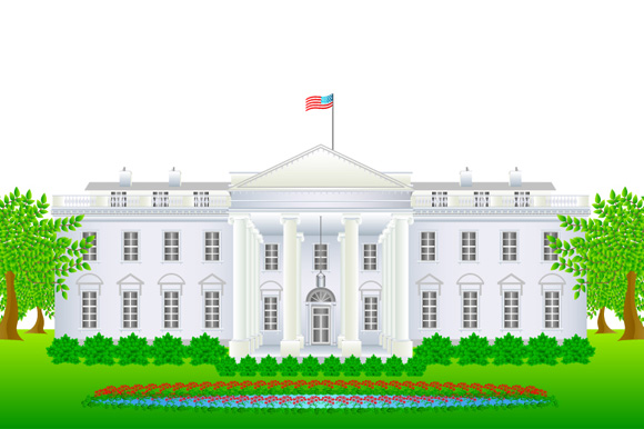 White House clipart government power Clipart collection White white House