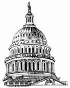 Dome clipart black and white Clipart art capitol clip Clipart