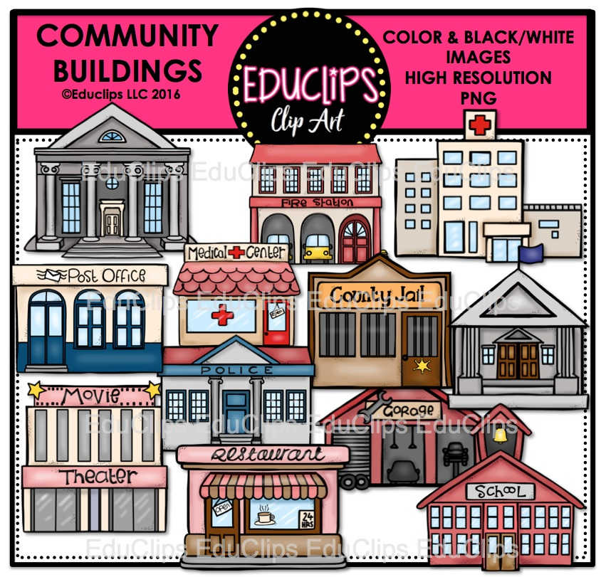 White House clipart community building #8