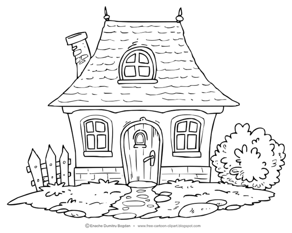 White House clipart cottage Illustrations Cottage Free Clipart Free