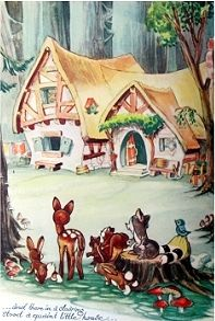 White House clipart cottage Illustrations & the Snow seven
