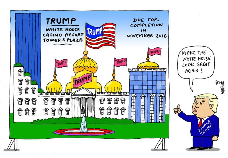 White House clipart foreign policy 100 Donald He News: He
