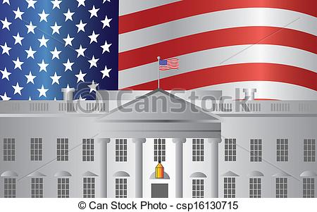 White House clipart goverment DC Washington Art US Clip