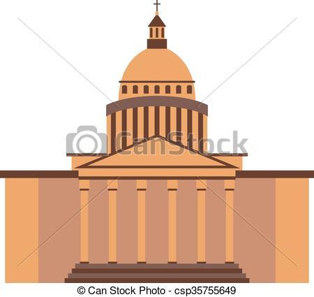 White House clipart goverment House White Vector United EPS