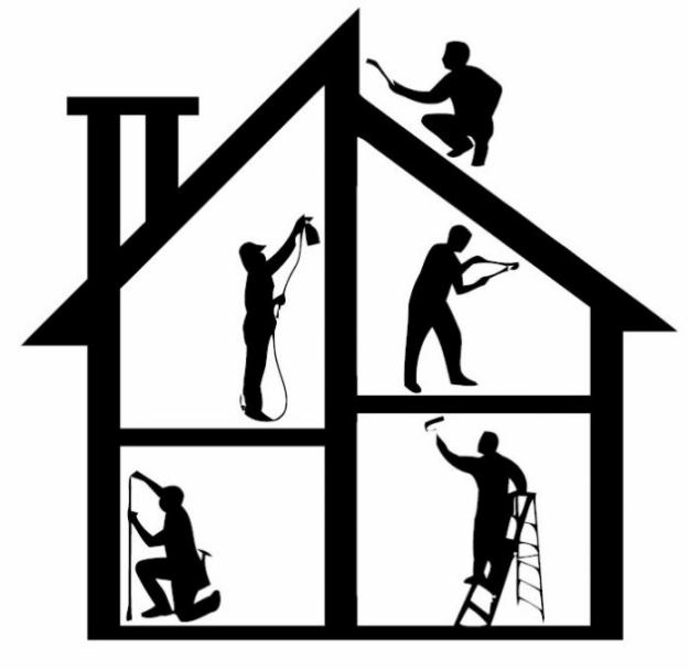 White House clipart home construction Free Clipart Home Construction Clipart