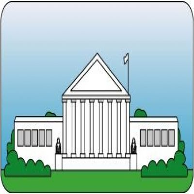 White House clipart judicial branch #6