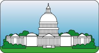 White House clipart judicial branch #13