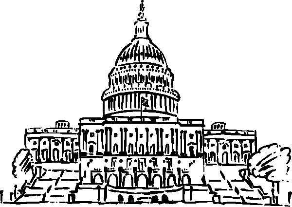 White House clipart legislative bill Congress to bill a How