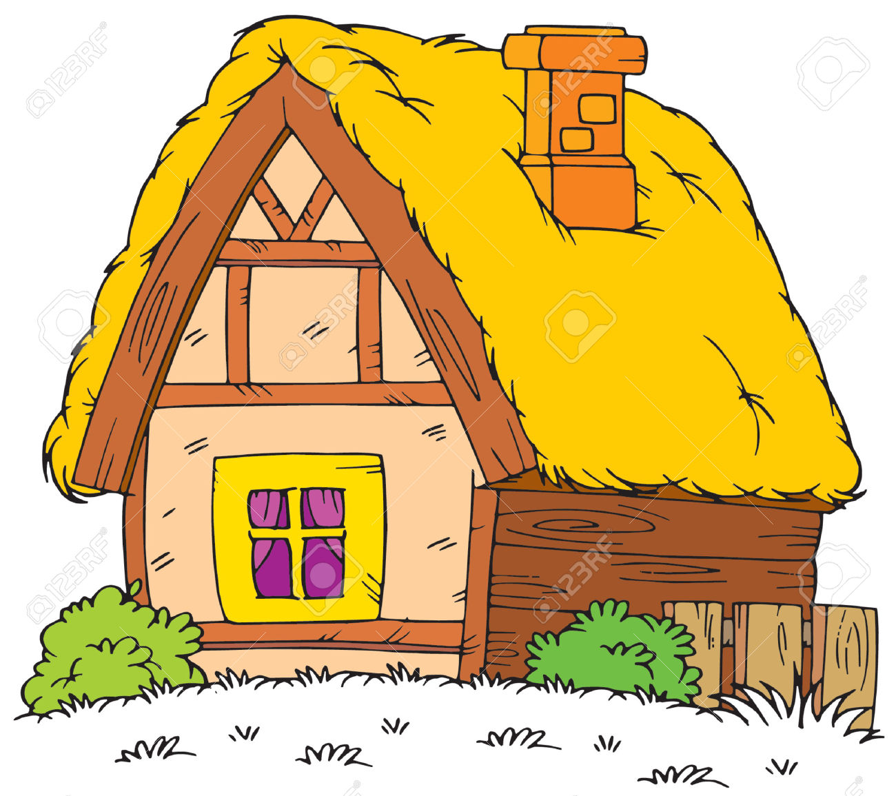Old House clipart old village Home Rural Free clipart Old