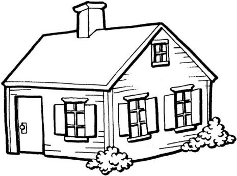 White clipart houseblack Collection of Of Clipart house