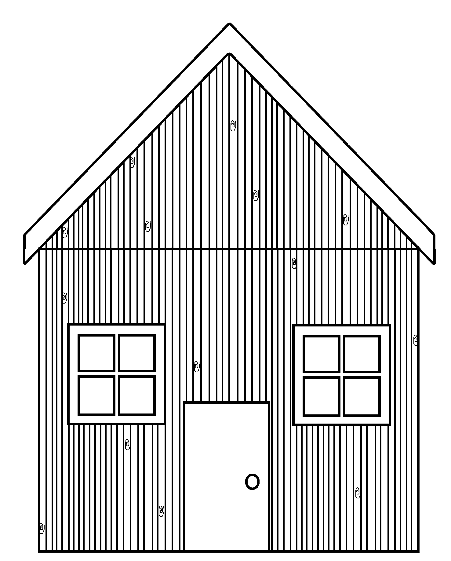 White House clipart stick house Cliparts House Stick Straw House