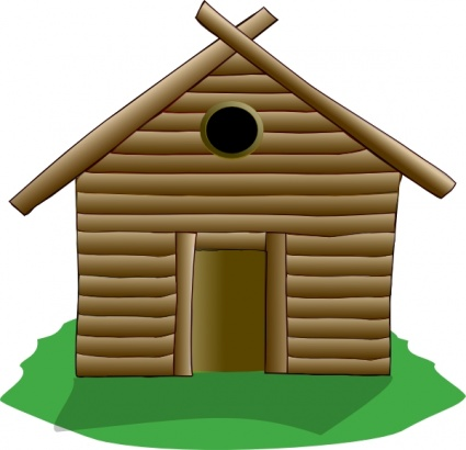 Pilgrim clipart homes #2